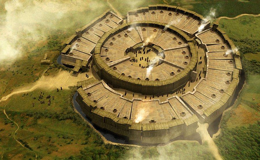 Страна Городов  Аркаим:  рассказ о событиях четырехтысячелетней давности