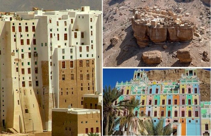Чудеса пустыни: древние города с небоскребами из грязи