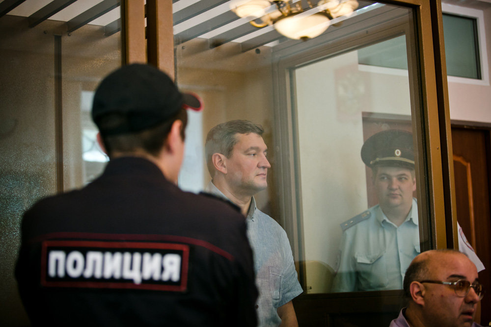 Суд отправил в СИЗО мэра Оренбурга
