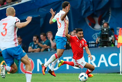 За разгромом сборной России на Евро-2016 наблюдали почти 5,6 млн телезрителей