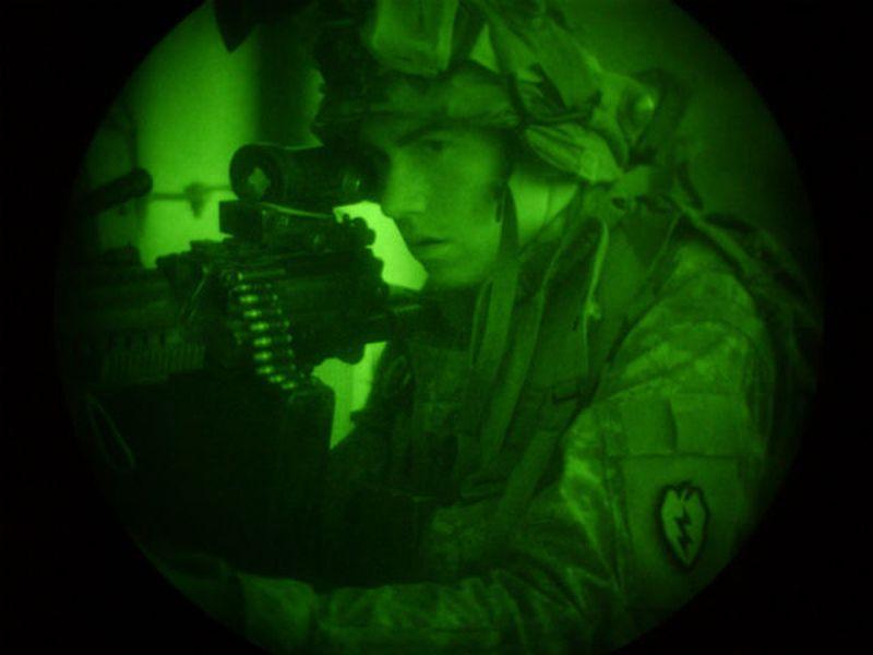 Камуфляж кальмаров спрячет солдат от приборов ночного видения и тепловизоров