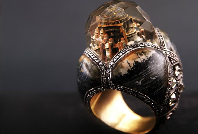 «Властелина колец»: потрясающие работы ювелира Sevan Bicakci