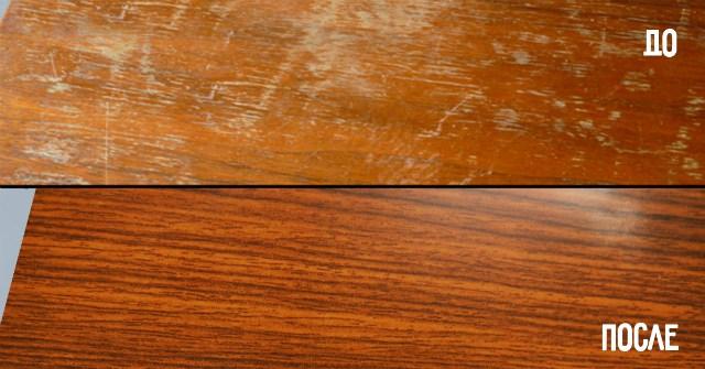 Простые способы удаления царапин с деревянной мебели