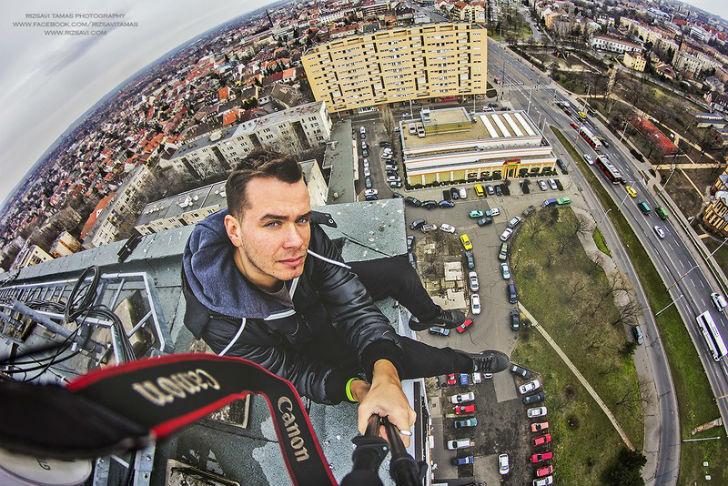 Рискнуть жизнью ради фотографий: 25 великолепных снимков Будапешта с высоты