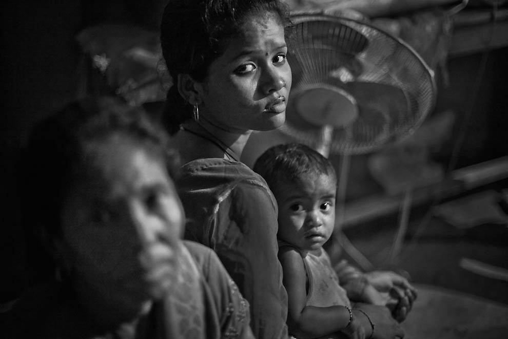 Непальские «неприкасаемые» женщины из касты проституток
