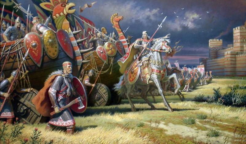 Чем воевали древние славяне Древняя Русь, история, славяне