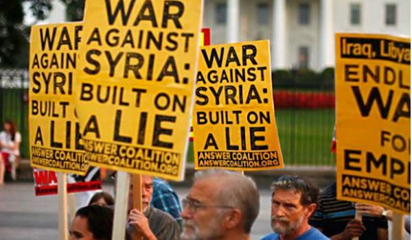 США готовят новую химическую провокацию в Сирии