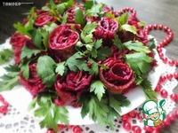 "Салат ""Букет роз"" ингредиенты"