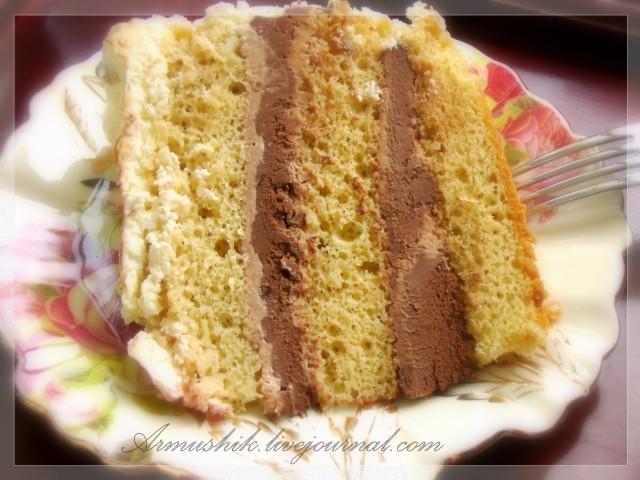 Нежный бисквит для торта в духовке рецепт с пошагово