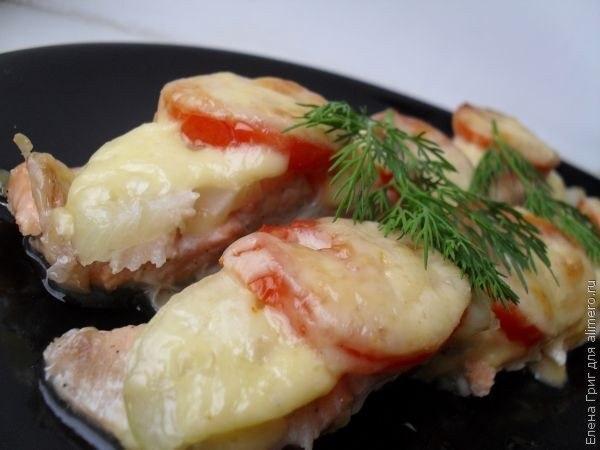 рыба под шубой рецепт духовке фото