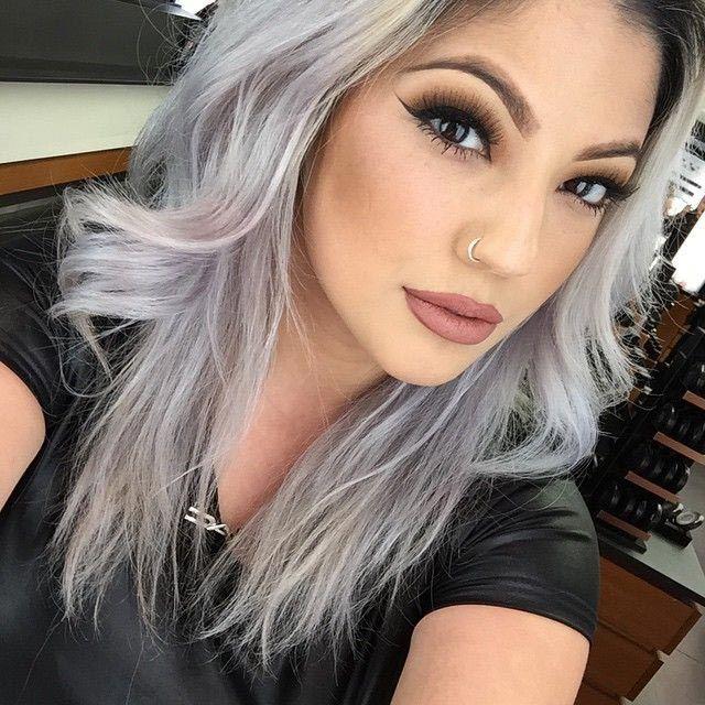 карие глаза и пепельный цвет волос фото