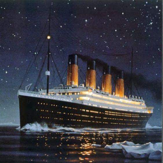 8. Существует версия, что основной причиной гибели «Титаника» стал эффект ледяного миража, скрывшего от наблюдающих реальные очертания айсберга, тем самым не позволив вовремя предупредить катастрофу. Об этом косвенно свидетельствуют показания выживши интересно, кораблекрушение, титаник