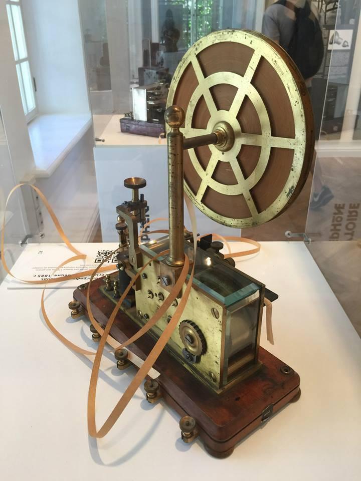 3. Телеграфный аппарат Ericsson, 1885 год. история, музеи, телефоны