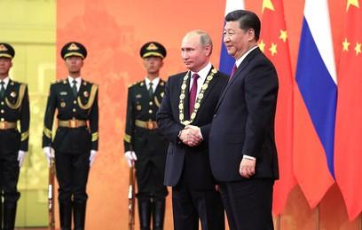 Переговоры Владимира Путина и Си Цзиньпина. Главное