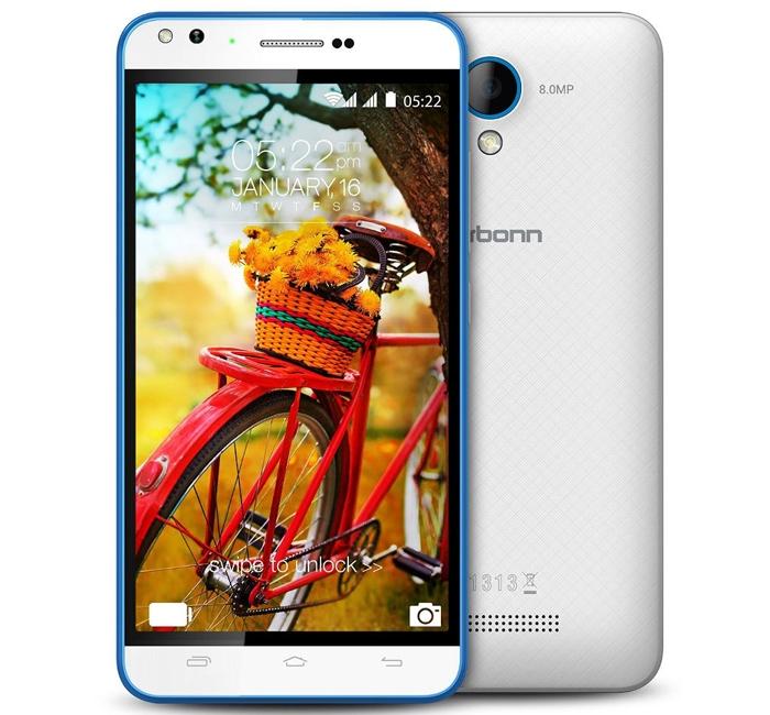 """Karbonn Titanium MachFive: смартфон с 5"""" дисплеем и 5-Мп фронтальной камерой"""