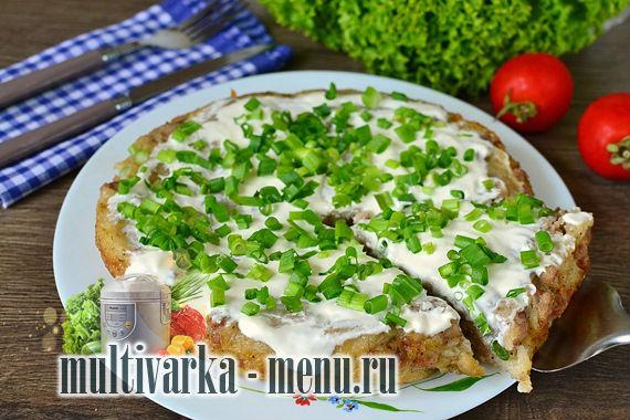 Белорусская картофельная бабка в мультиварке: фоторецепт картофельной запеканки в мультиварке