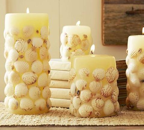 Как сделать свечу декоративную