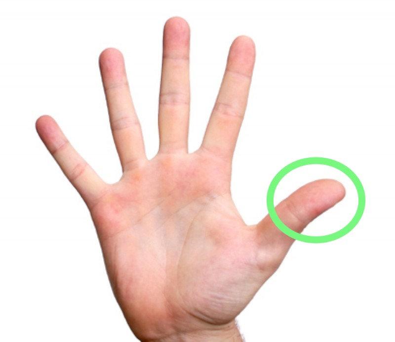 1 минутный массаж пальца в корне изменит ваше самочувствие