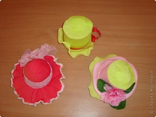 Мастер-класс Моделирование: Шляпы Бумага. Фото 16