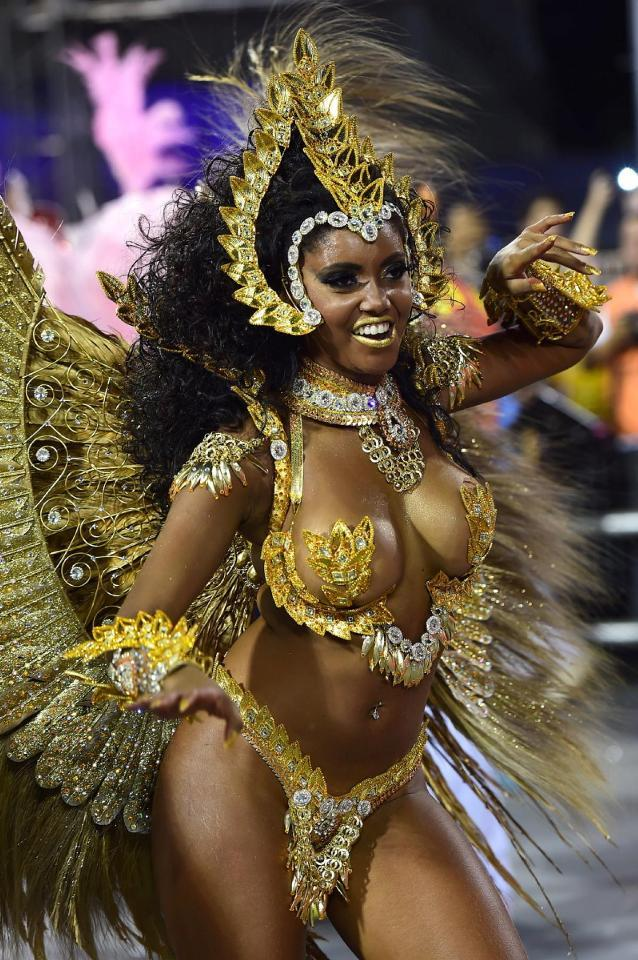 Бразильский зной. Самые горячие красотки легендарного карнавала