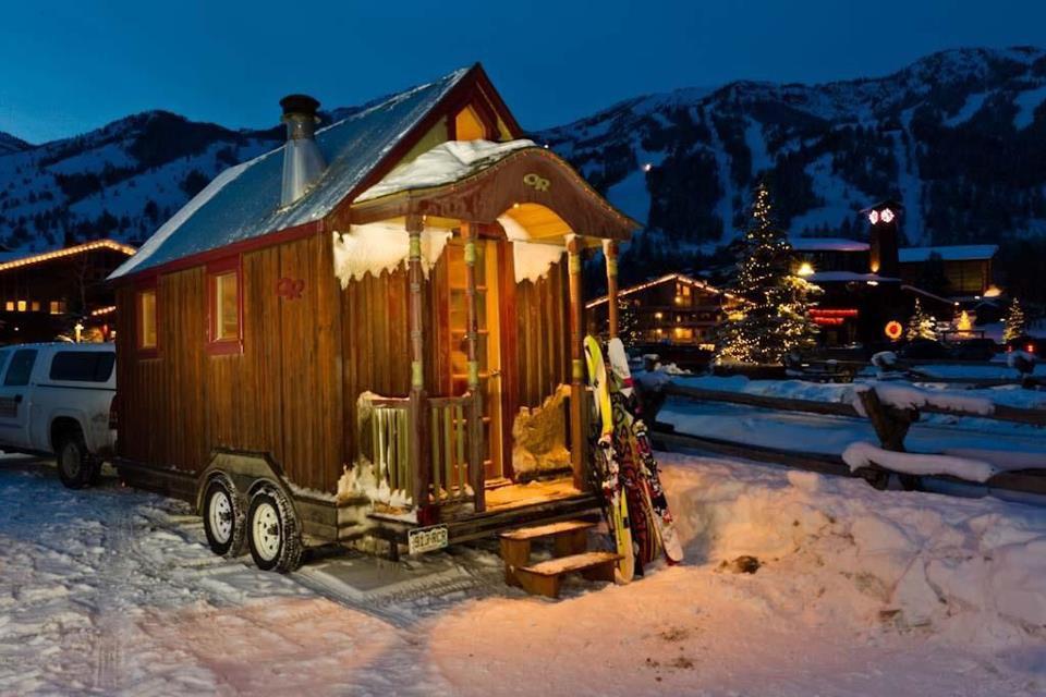 25. Лыжный домик вместительность, дом, размер