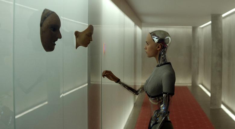 Кадр из фильма Ex Machine.