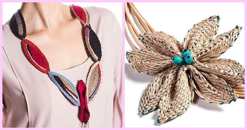 Этнические плетёные украшения мастерицы Софии Пашу, достойные внимания