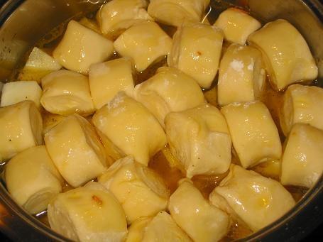 Штрудли с мясом и картошкой - объедение!