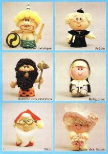 Mini poupees a faire soi-meme (мини-игрушки)
