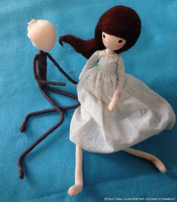 Кукла ручной работы сделать своими руками
