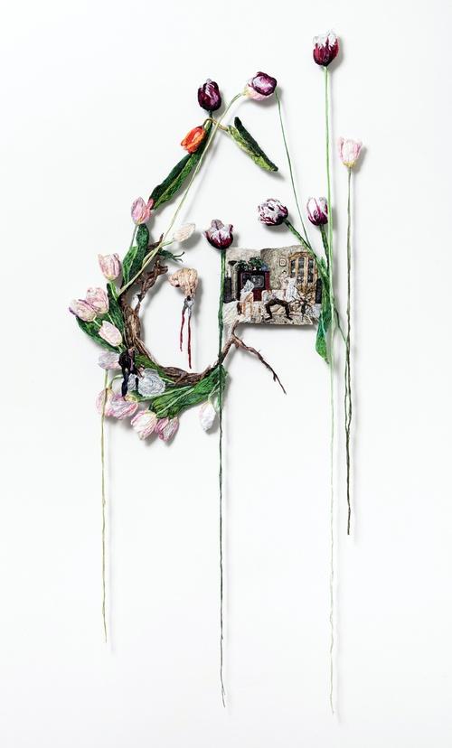 Вышивка  от  Sophia Narrett (подборка)
