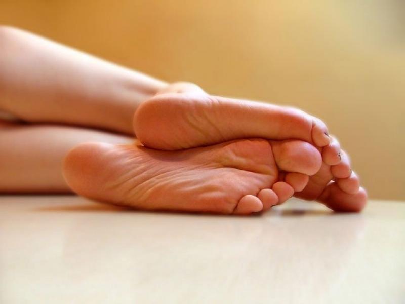 5 шагов к гладким и нежным пяточкам