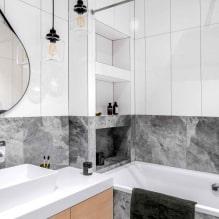 Как оформить ванную комнату в светлых тонах?-3