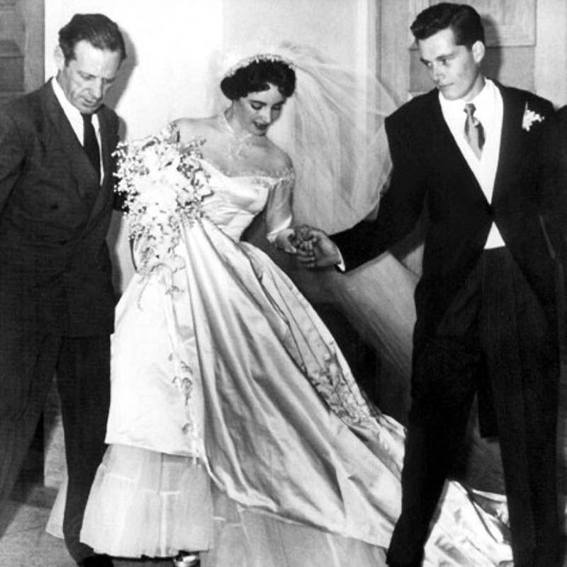 Первая свадьба Элизабет Тейлор (18 фотографий), photo:9