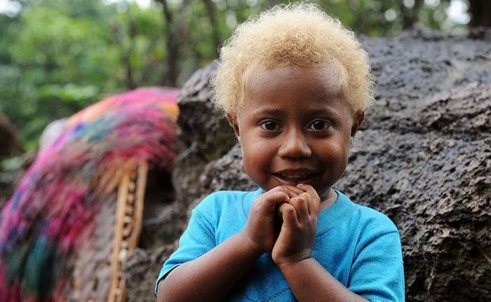 Белокурые негры Меланезии