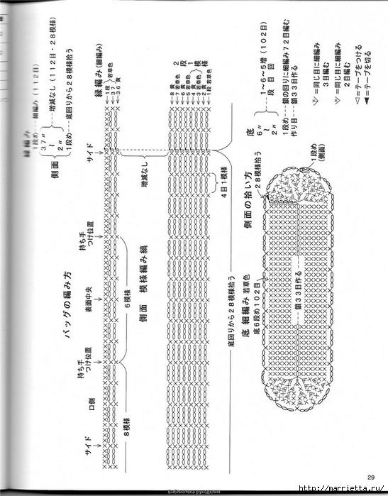 Корзинка и сумки крючком из полиэтиленовых пакетов (28) (547x700, 218Kb)