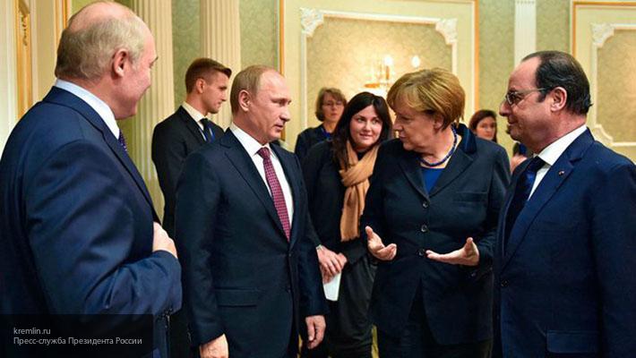 В Кремле озвучили основные темы встречи Путина и Меркель в Сочи