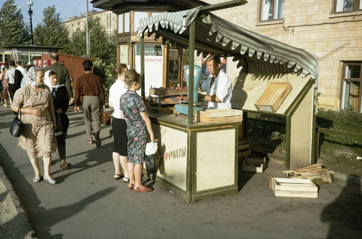 Уличные торговцы во времена СССР