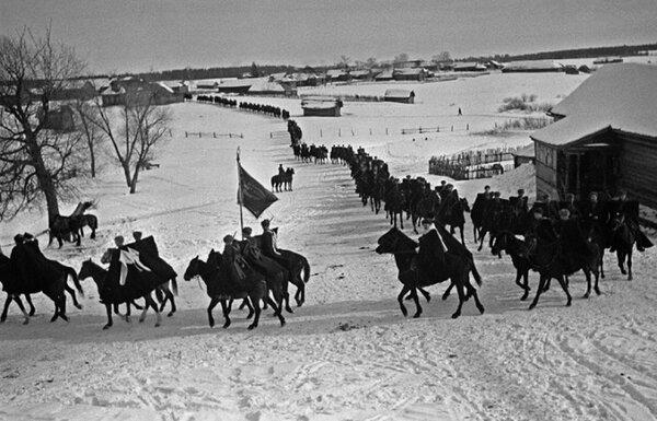 Как советская конница сражалась против танков при битве за Москву