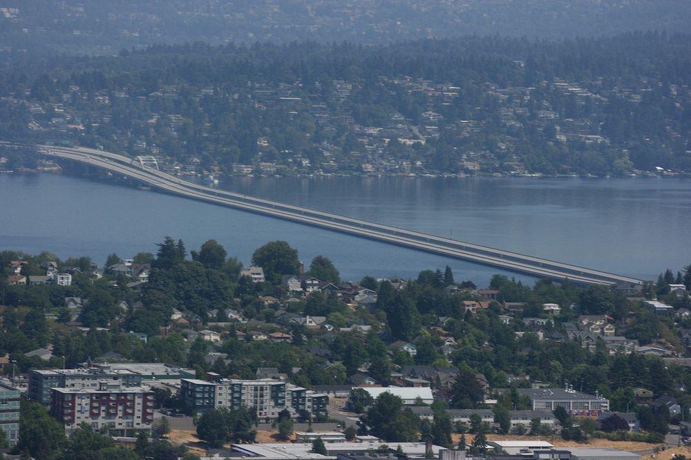 Плавающие мосты из бетона в Сиетле