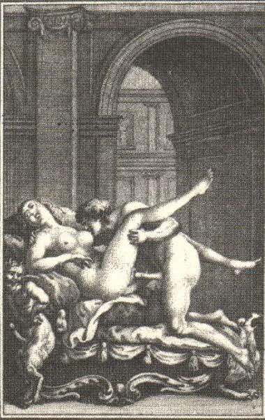 Европейская эротическая гравюра