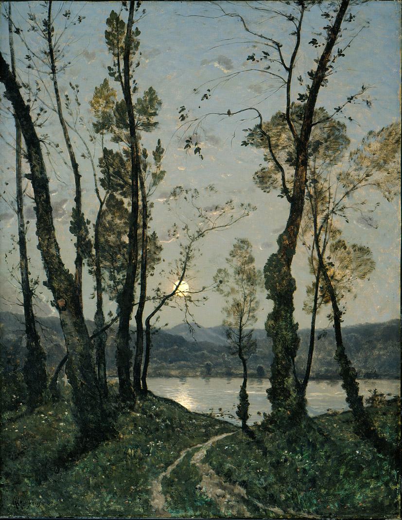 Предметов вкрадчивость, свет ласковый восхода, Земля, что жизнь дарит, и быстрая вода… Французский художник Henri Joseph Harpignies (1819 — 1916)