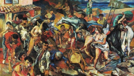художник Ренато Гуттузо (Renato Guttuso) картины – 11