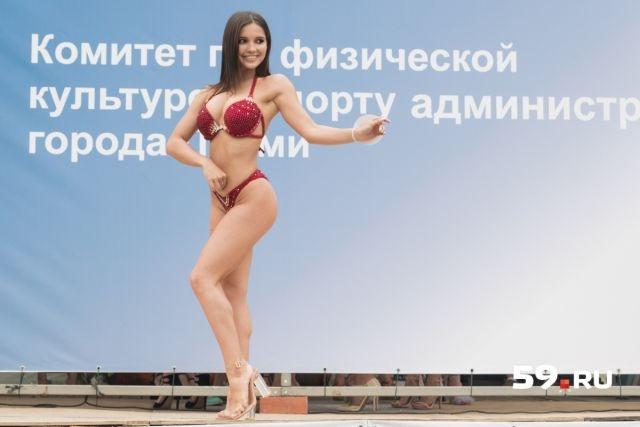 """Конкурс """"Мисс фитнес-бикини - 2018"""" в Перми"""