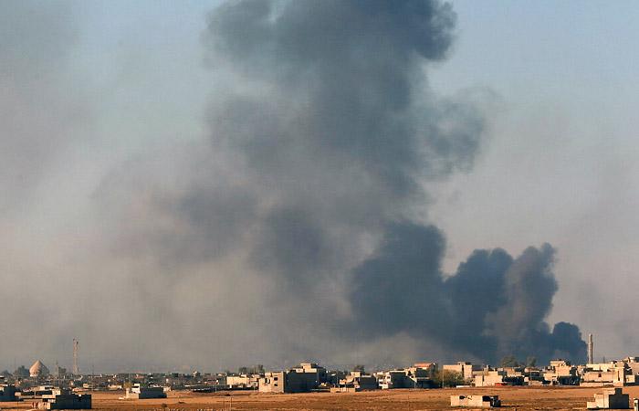 Сирия, 8 мая: ВВС США обруши…