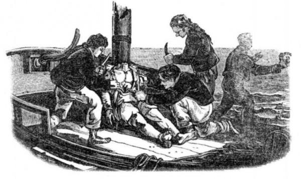 Про один обычай моря - каннибализм