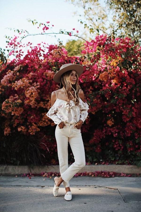 Как носить белые джинсы летом 15 модных идей