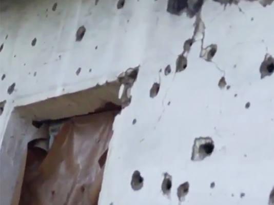 В ДНР вновь отстраивают дома, разрушенные обстрелами