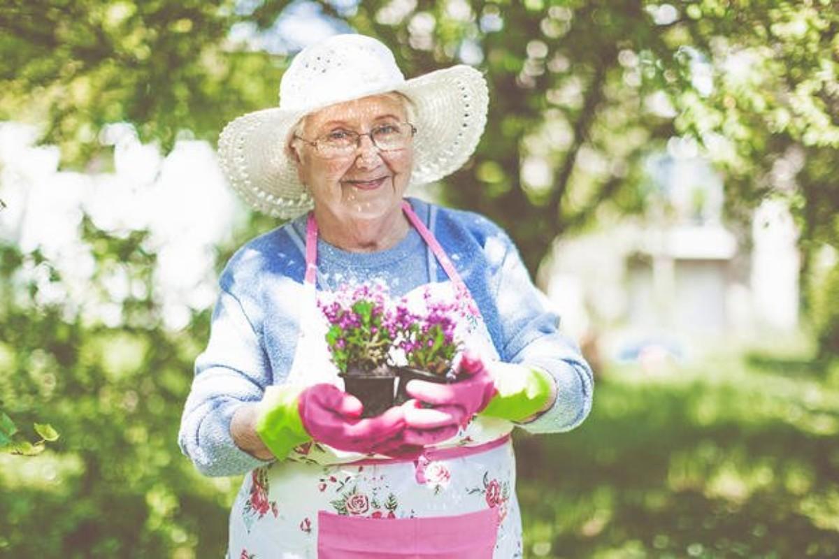 Моя бабушка ушла в 104 года.…