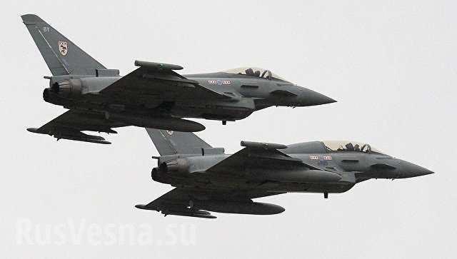 Эстония спасена: два самолетика НАТО отразят «российскую угрозу»?